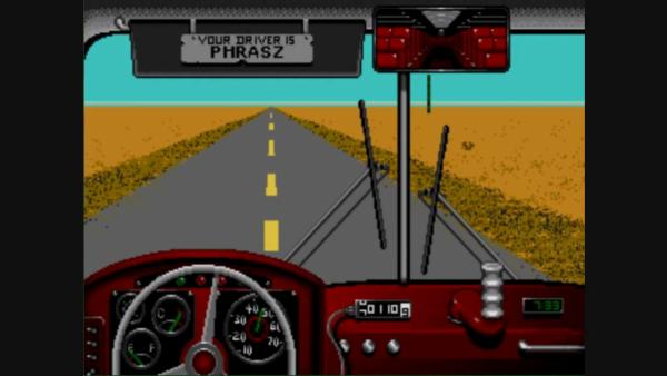 "Screenshot from ""Desert Bus"" playthrough by Phrasz013."