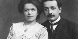 Mileva Marić-Einstein and Albert Einstein, 1912