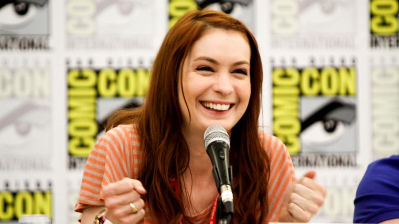 Felicia Day at Comic Con 2011