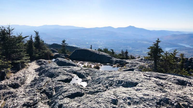 Hunger mountain's peak