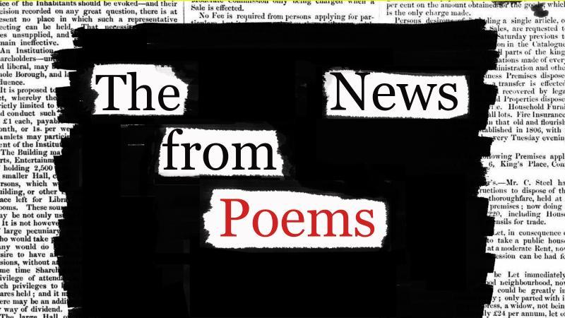 News From Poems