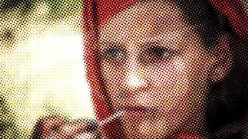 Portrait of a woman taken in naray afghanistan