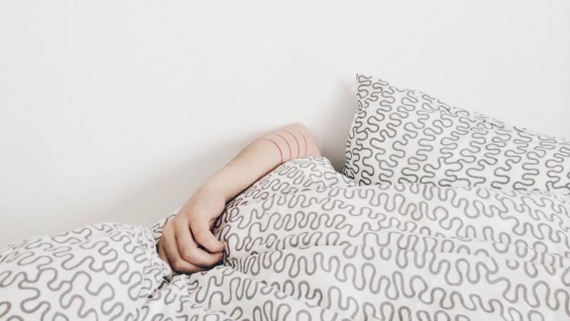 Still in bed