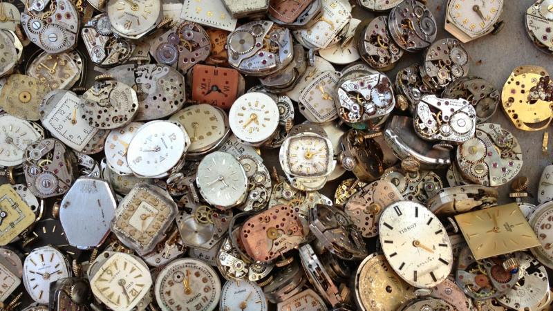 Clocks and clocks and clocks