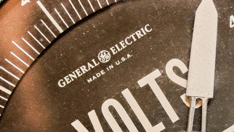 General Electric dial