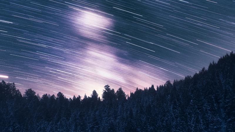 a night sky