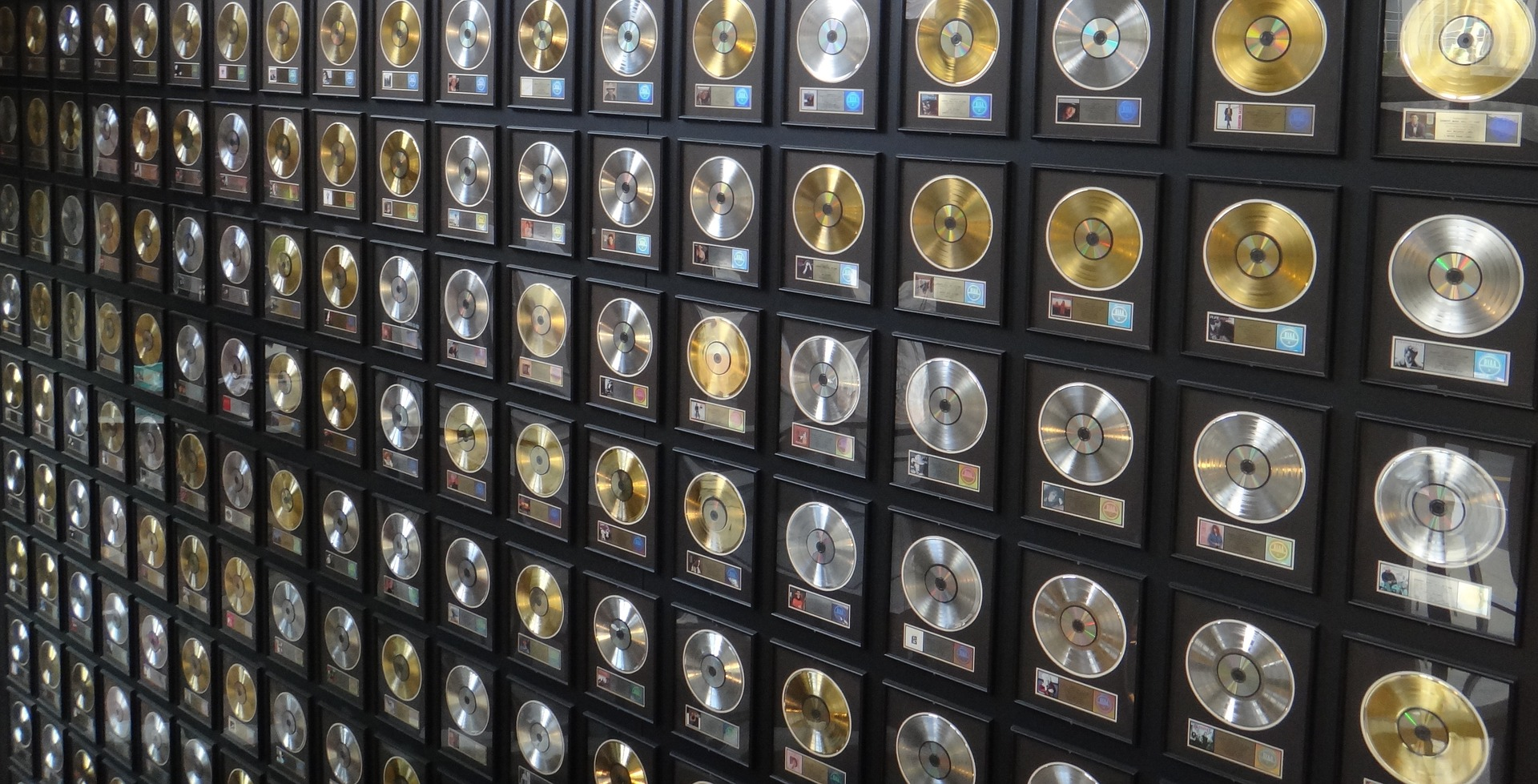 Image of gold records