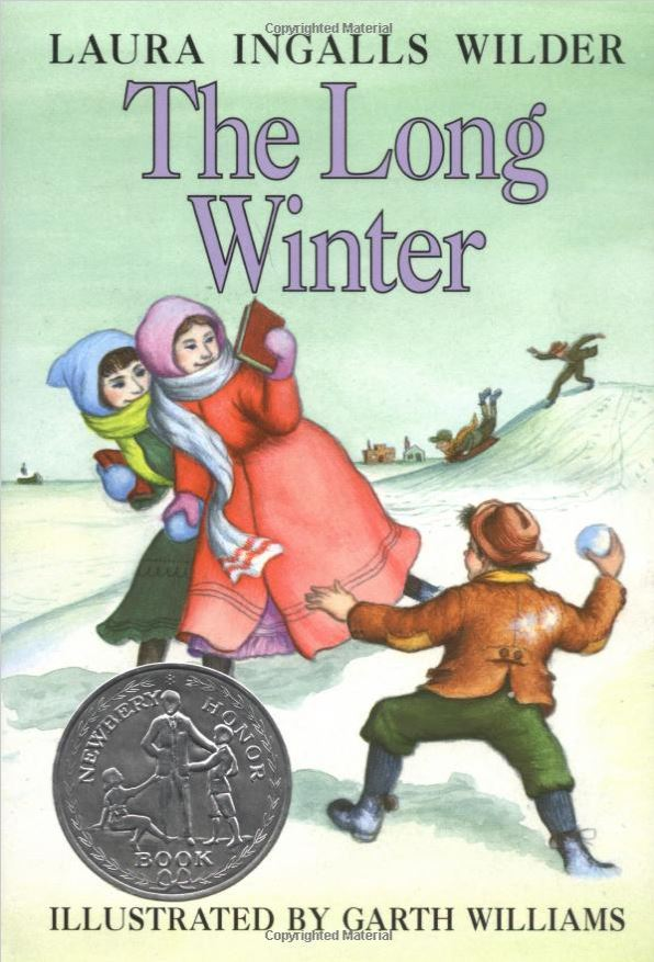 Book cover for The Long Winter by Laura Ingalls Wilder