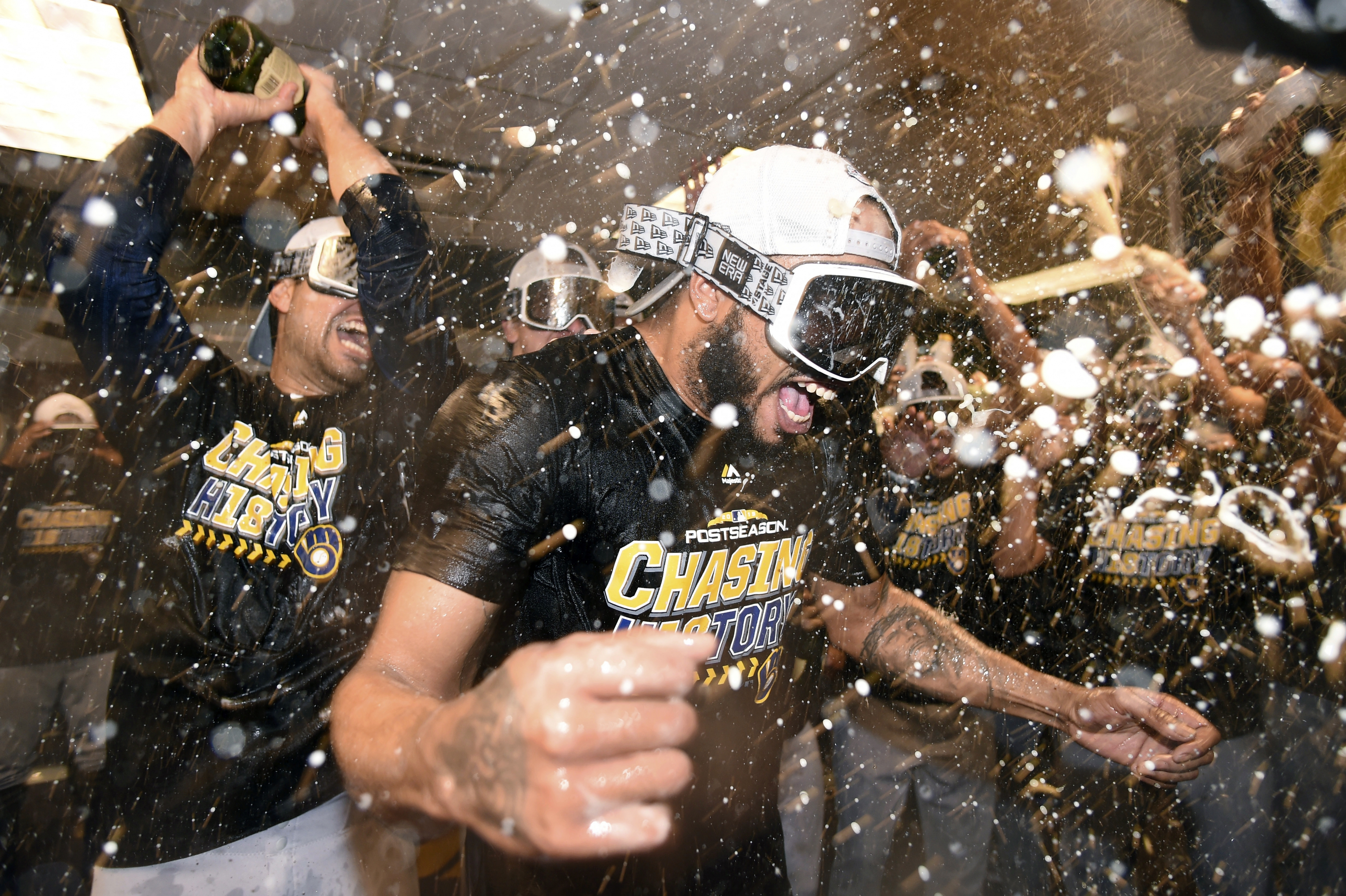 Brewers Sweep Rockies, Advance To 1st NLCS Since 2011 | Wisconsin ...