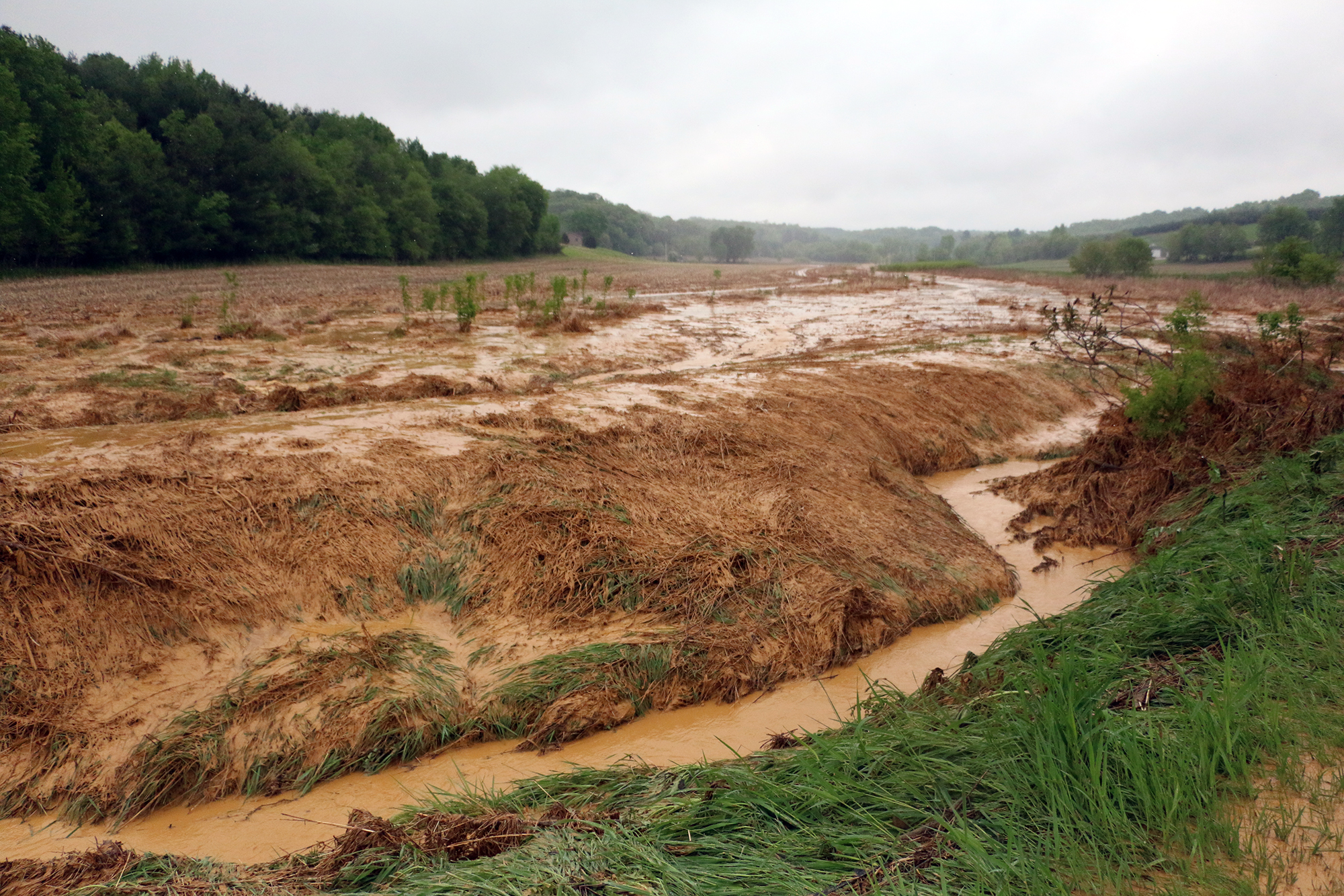 Tests Show Toxic Heavy Metals Near Wisconsin Sand Mine Spill ...