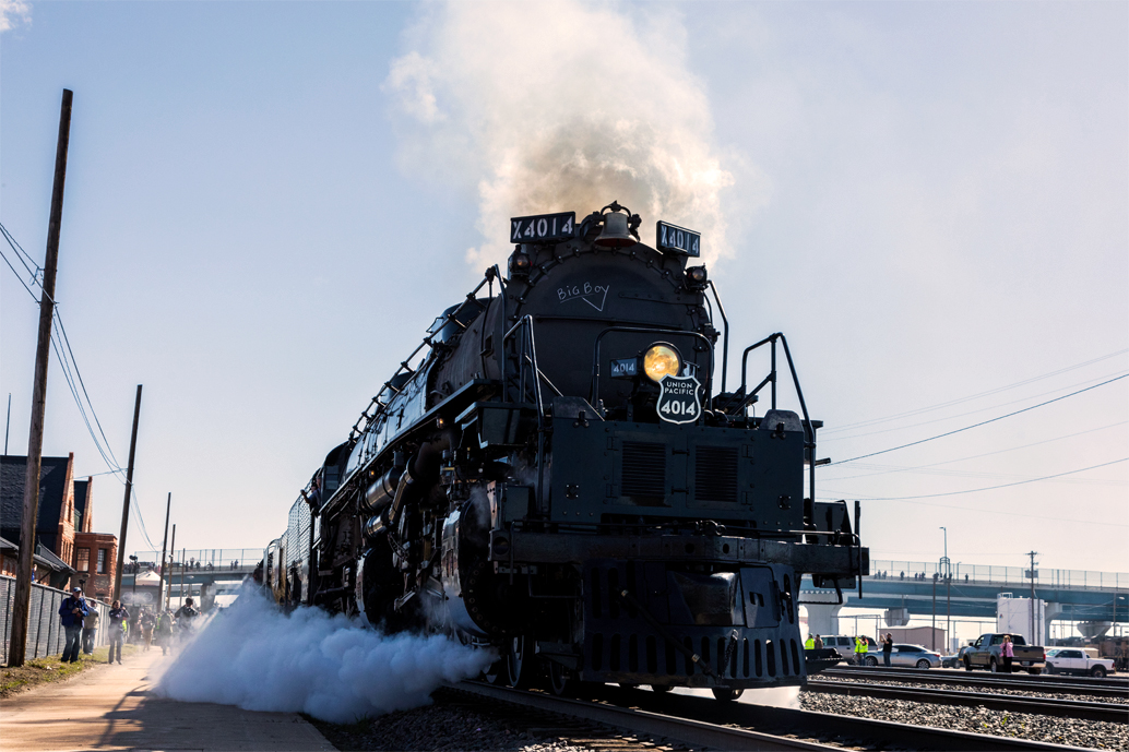 The Train Is Coming: Big Boy Locomotive To Make Stop In