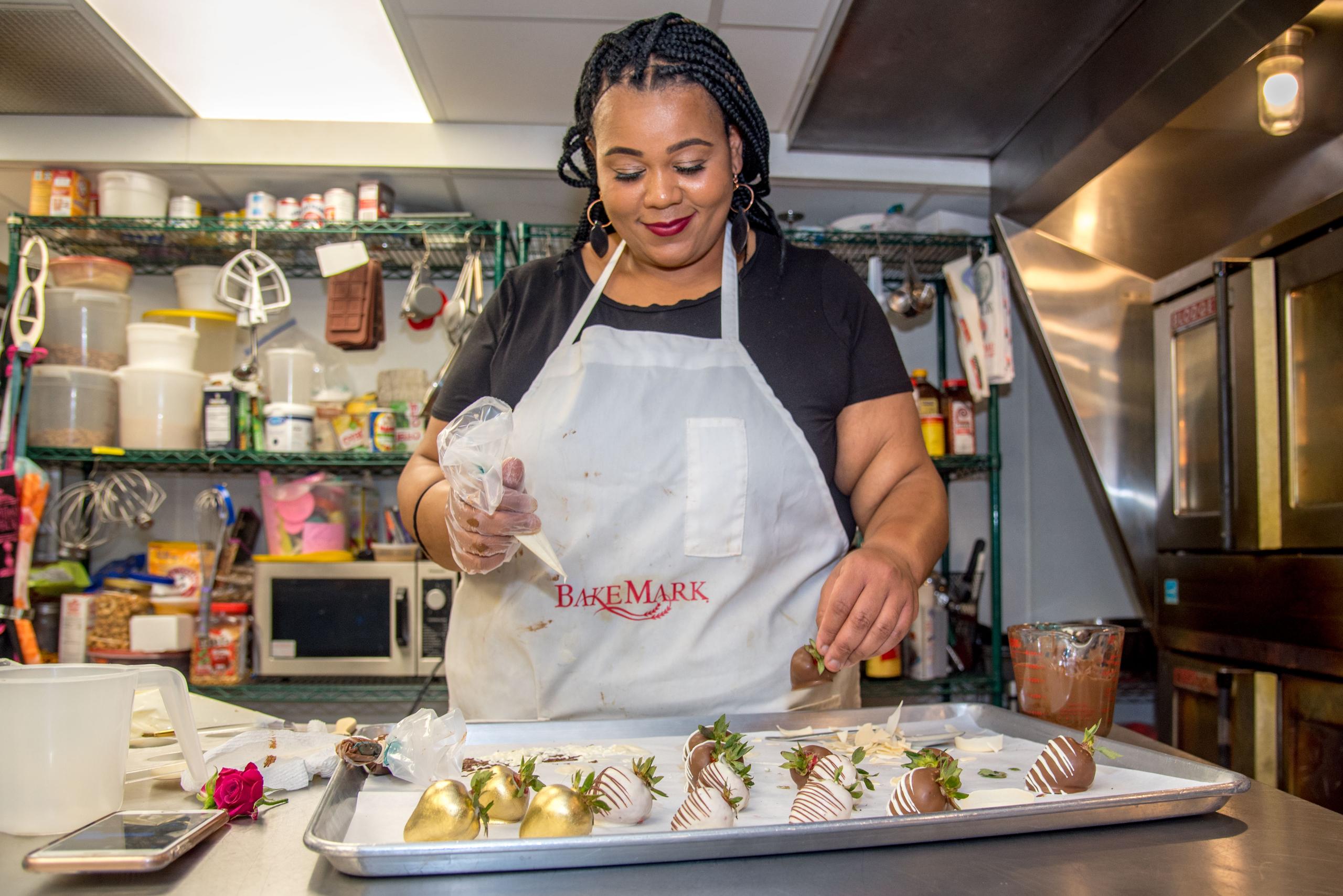 Outbreak Wisconsin: Milwaukee Baker Adija Greer-Smith Slowly Reopens Her Business