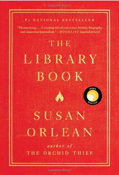 Bookcover for The Library Book by Susan Orlean