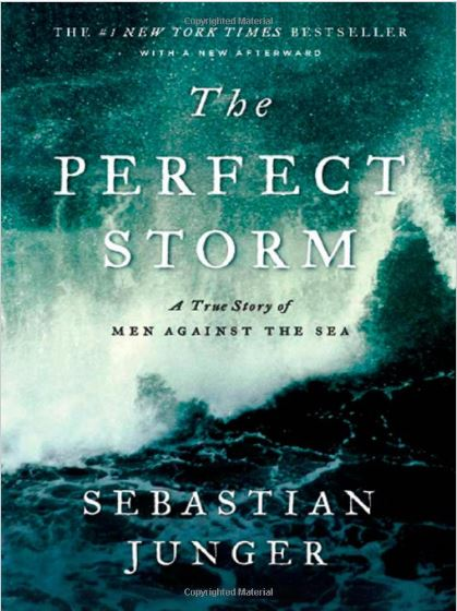 Bookcover forThe Perfect Storm by Sebastian Junger