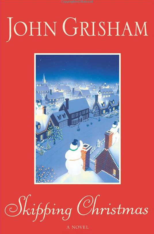 Book cover for Skipping Christmas by John Grisham