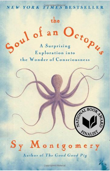 Bookcover for The Soul of an Octopus by Sy Montgomery
