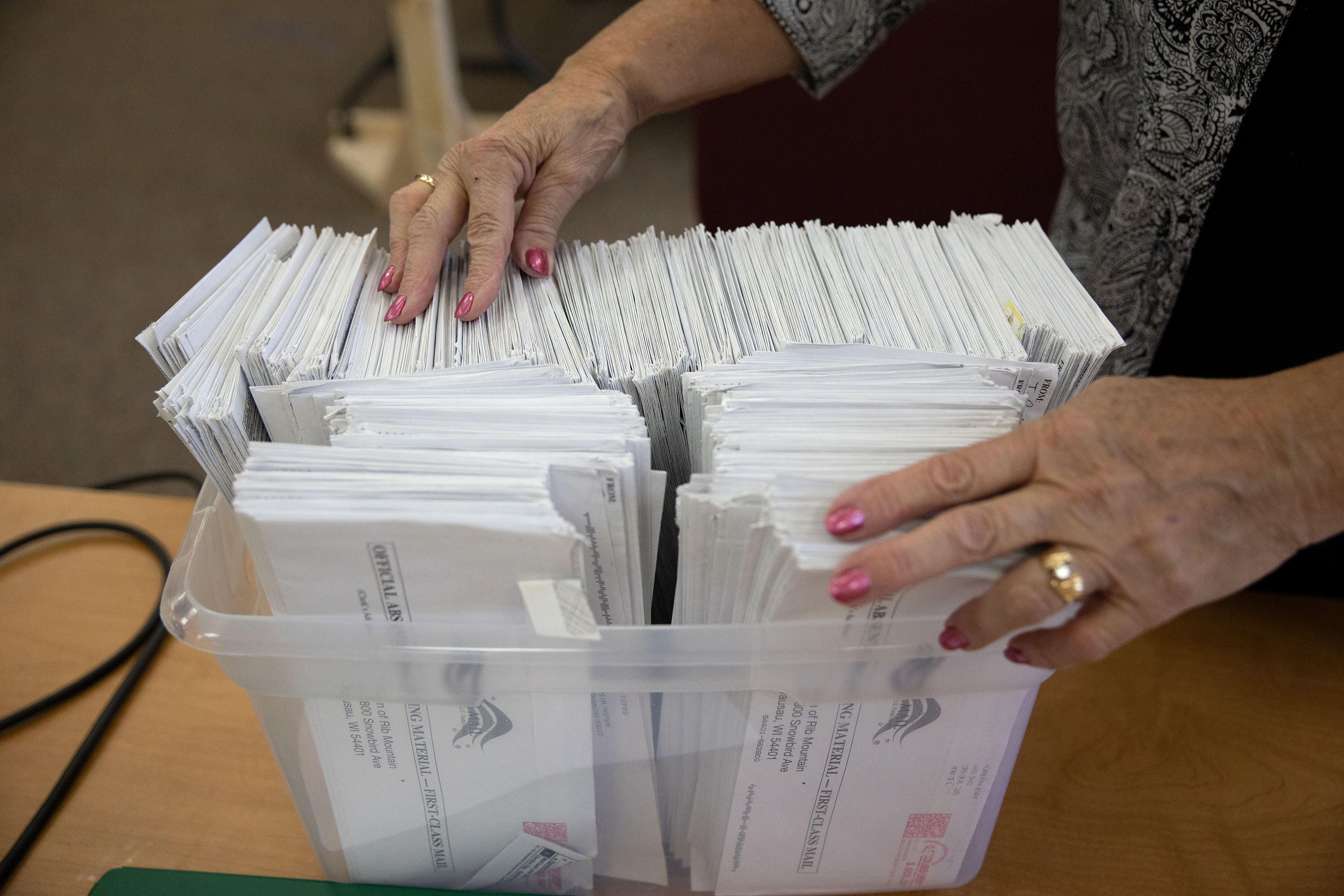 Around 250K US Presidential Absentee Ballots Yet To Be Returned In Wisconsin