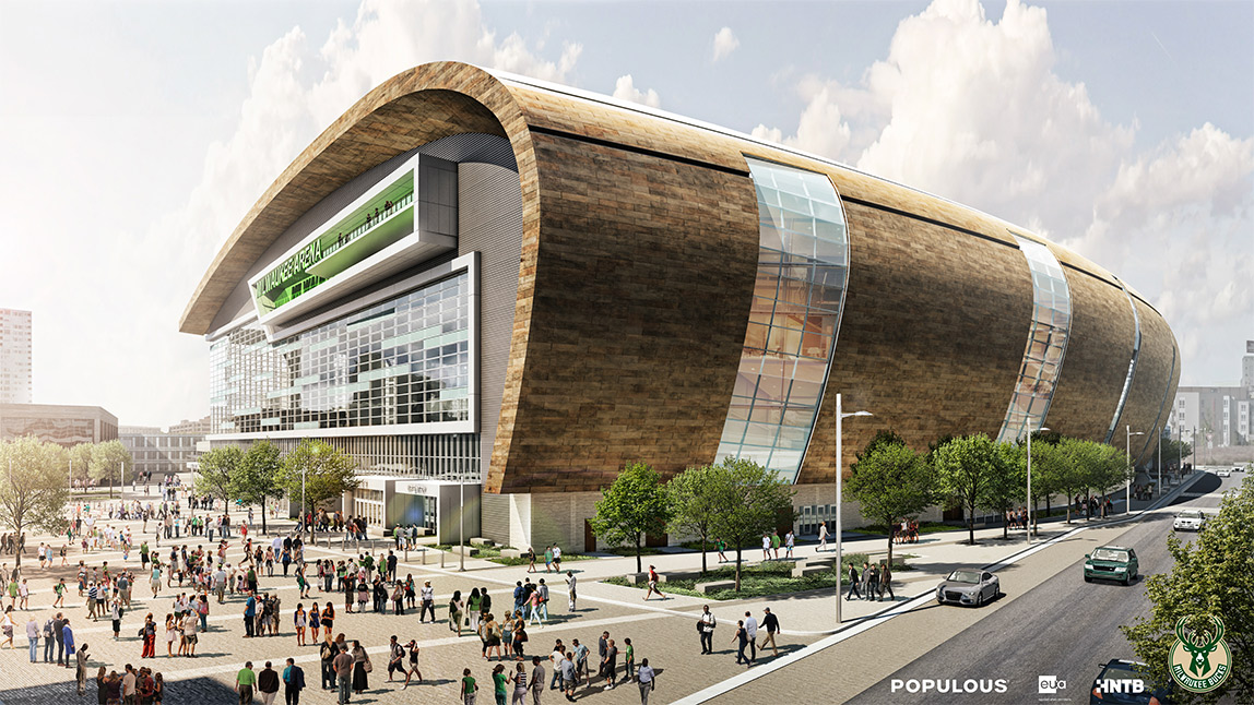 Milwaukee Bucks Sign 30-Year Lease On New Arena Site