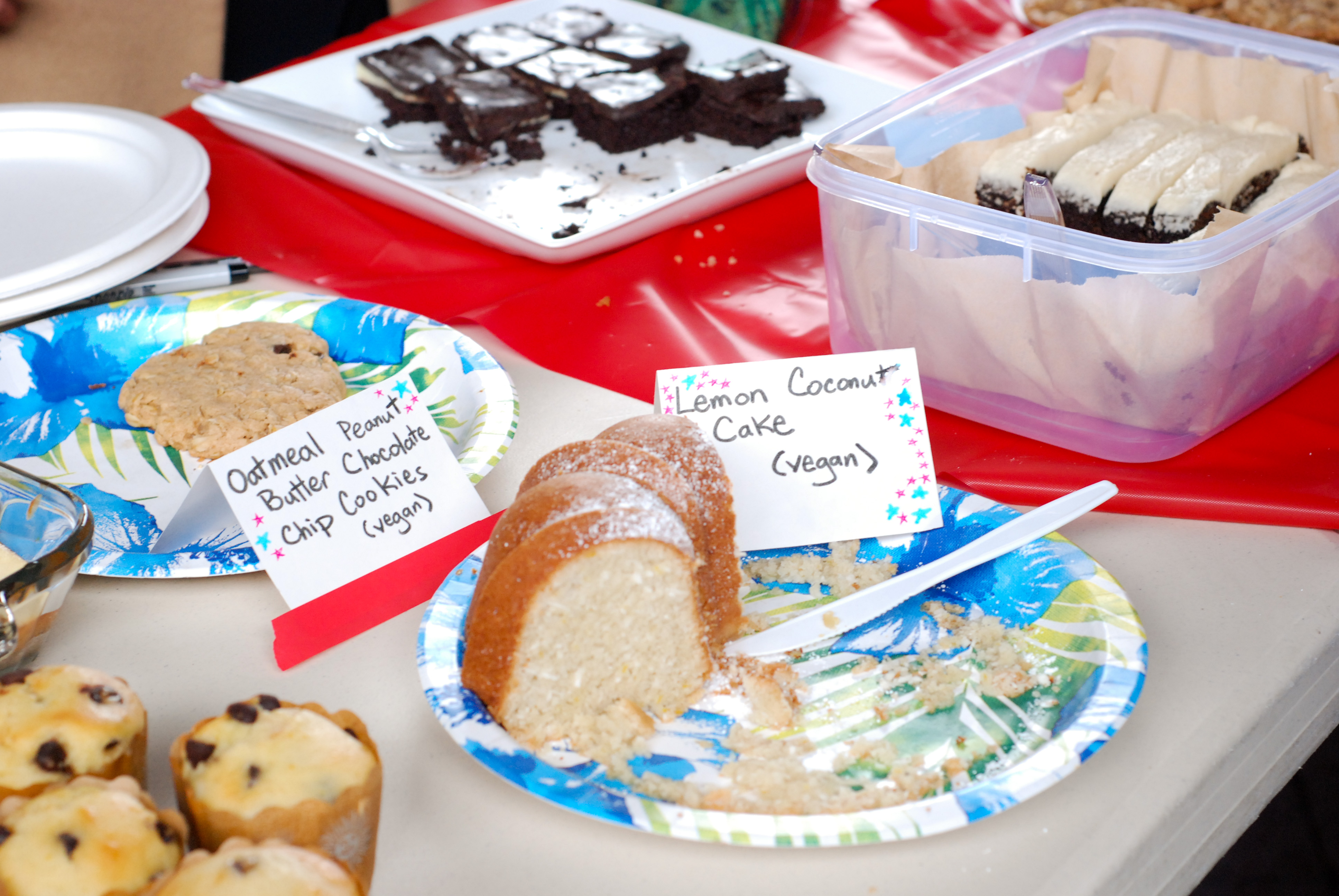 what to bring to a bake sale