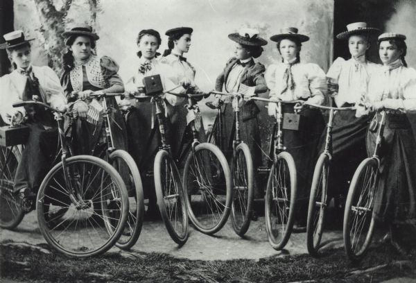 How The Bicycle Empowered Women Wisconsin Public Radio