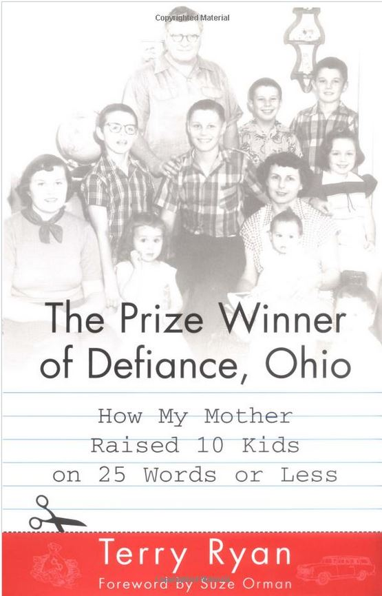 Bookcover for The Prize Winner of Defiance, Ohio by Terry Ryan