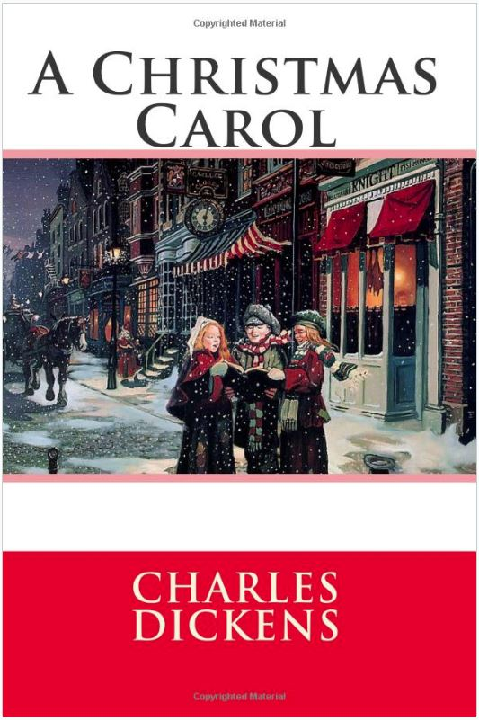 Bookcover for A Christmas Carol by Charles Dickens