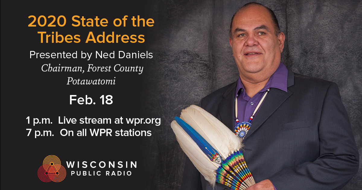 photo of Forest County Potawatomi Chair Ned Daniels