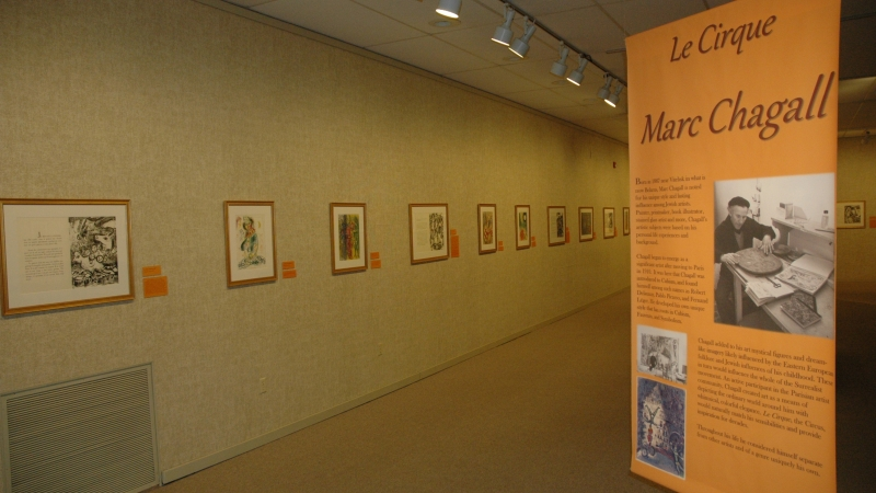 Le Cirque exhibit at the Rahr-West Art Museum in Manitowoc