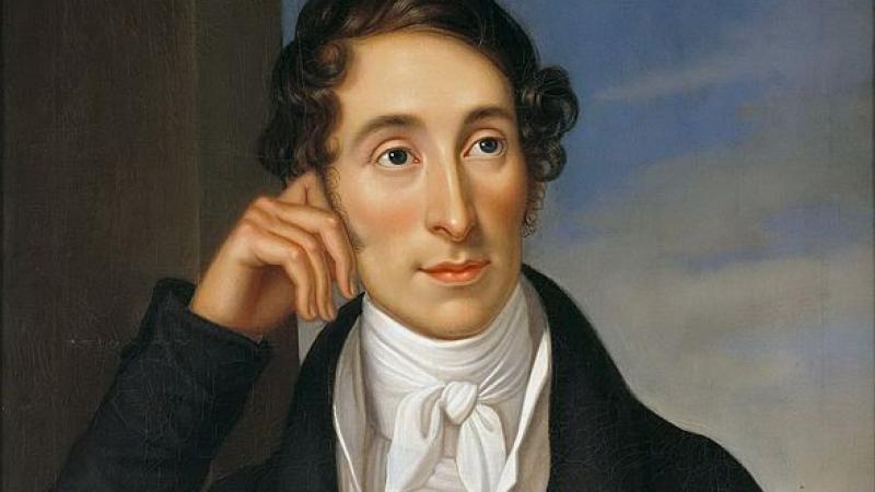 Portrait of Carl Maria von Weber