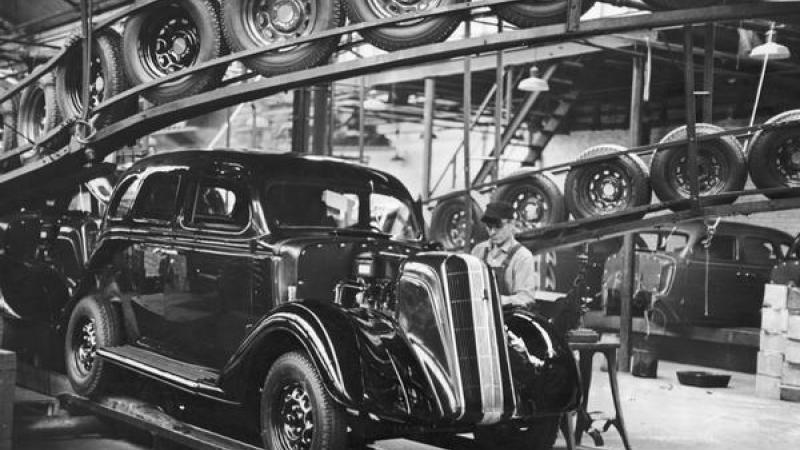 Nash Motors assembly line