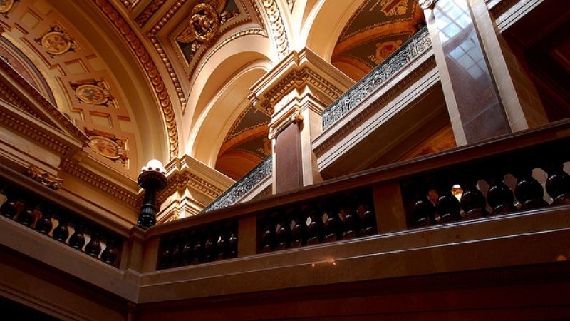 Wisconsin State Capitol indoor close-up