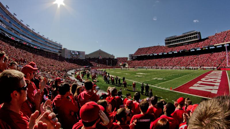 UW-Madison, Camp Randall, football