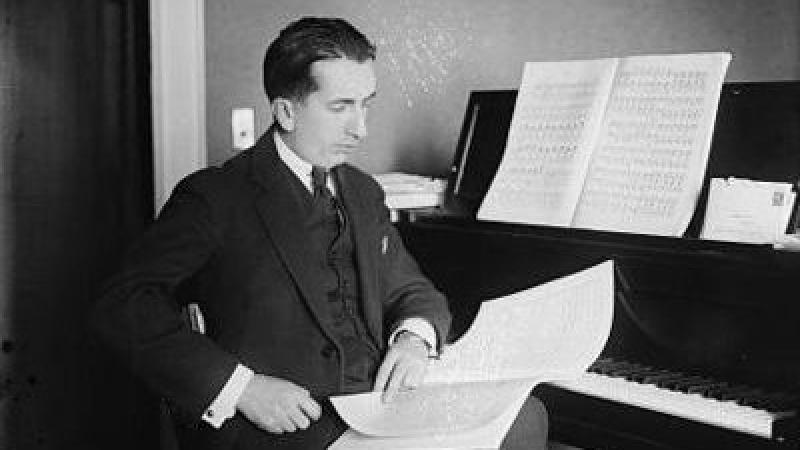 Photo of conductor Alfredo Casella
