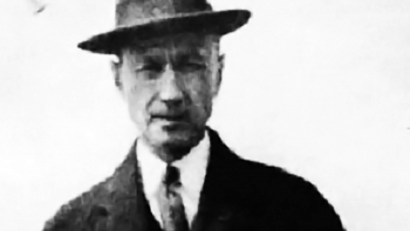 Photo of composer Charles Ives