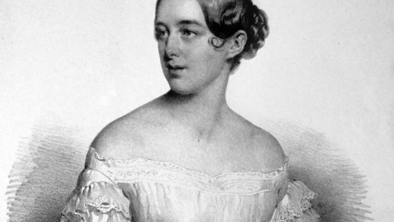 Photo of soprano Clara Novello
