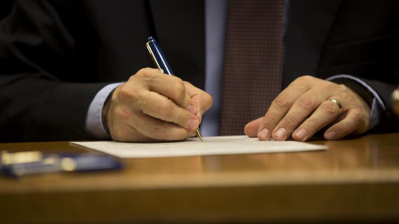 Scott Walker bill signing
