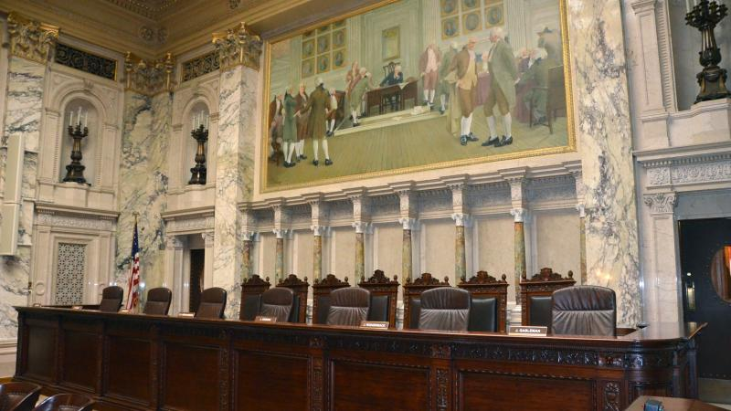 Wisconsin Supreme Court chamber