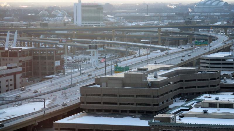 Interstate 94 in Milwaukee