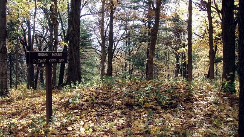 indian burial mound