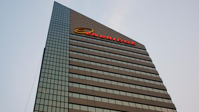 Enbridge headquarters in Edmonton, Alberta