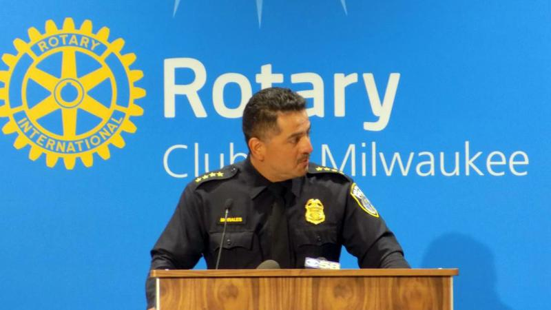 Milwaukee Chief of Police Alfonso Morales