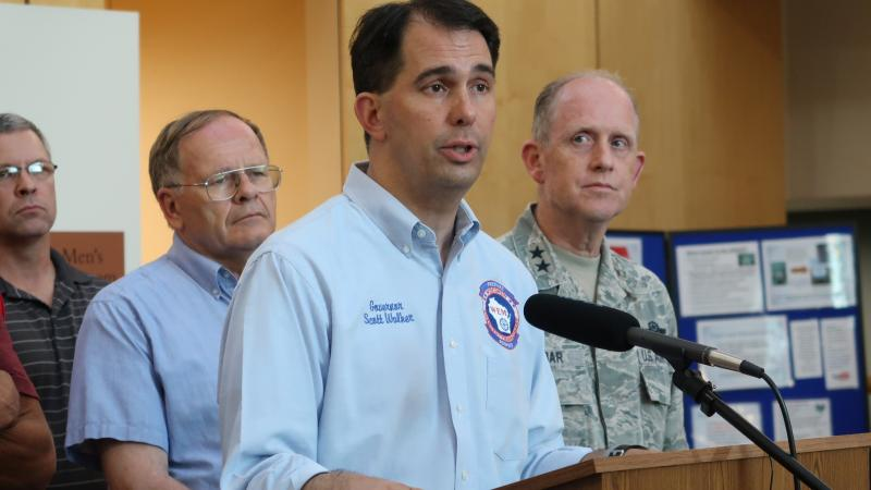 Gov.Scott Walker declared a state of emergency in Ashland, Bayfield, Burnett, Douglas, and Iron counties on Monday evening