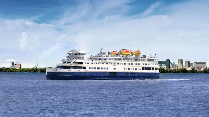 The Victory II Cruise ship