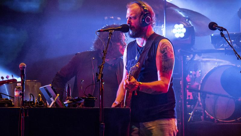 Bon Iver performs at the Bonnaroo Music and Arts Festival