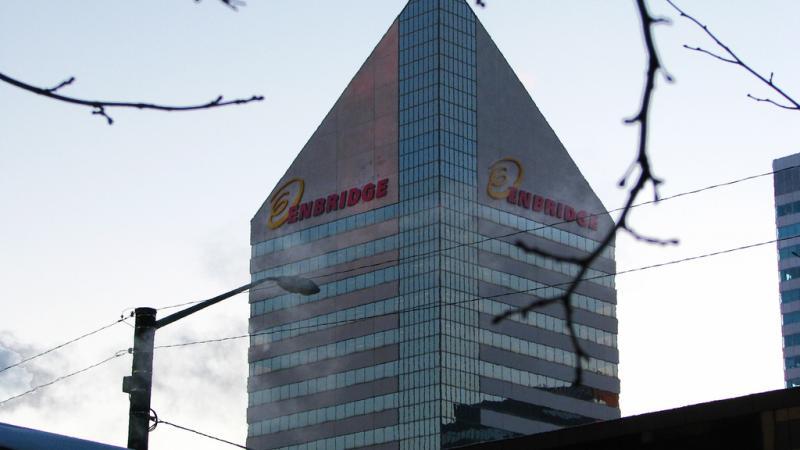Enbridge building in Edmonton