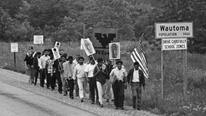 Wautoma, civil rights, march, 1966