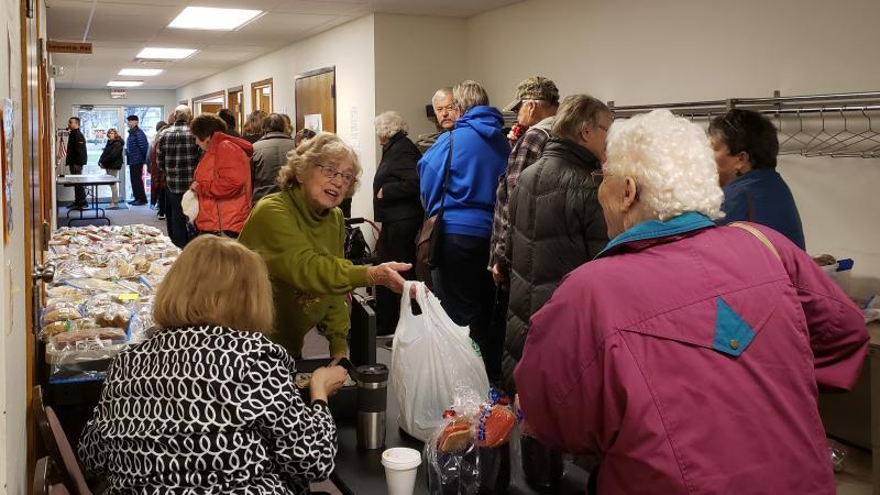 Christ Lutheran Church, Menomonie, voting, elections