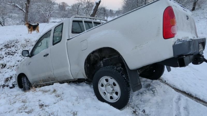 winter auto accident
