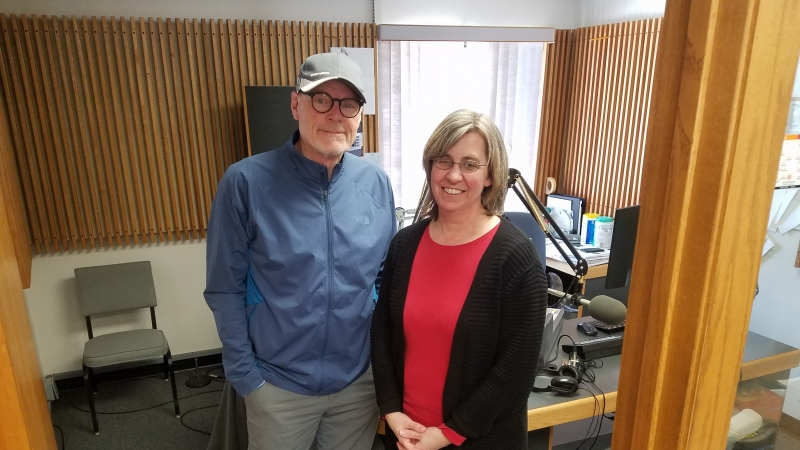Al Ross with Carrie Ronnander