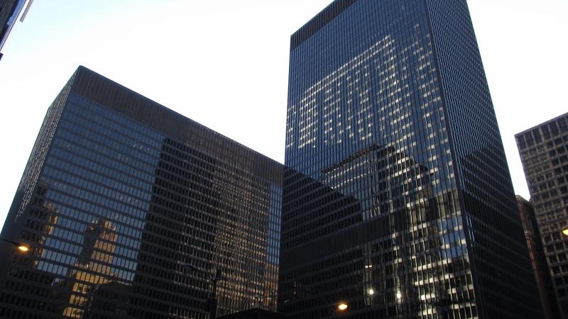 The Dirksen Federal Building in Chicago.